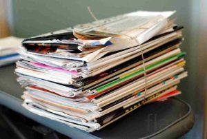Утилизация бумажных отходов