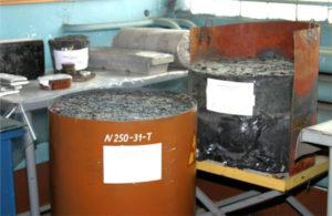 Способы утилизации радиоактивных отходов. Цементирование и остекловывание