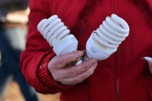 Утилизация ртутьсодержащих ламп и предметов